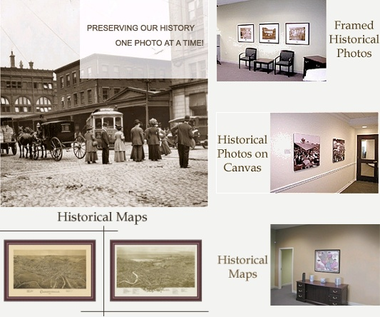 Historical Maps and Historical Photos